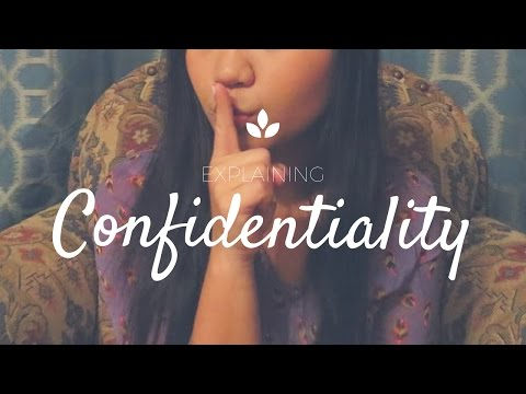 How to explain confidentiality to your client?