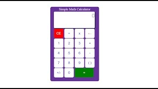How to build a calculator in JavaScript part 2
