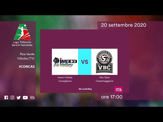 Conegliano - Casalmaggiore | Speciale | 1^Giornata Campionato | Lega Volley Femminile 2020/21