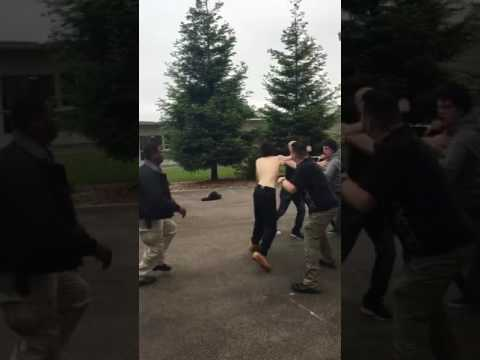 Seniors fight at redwood high