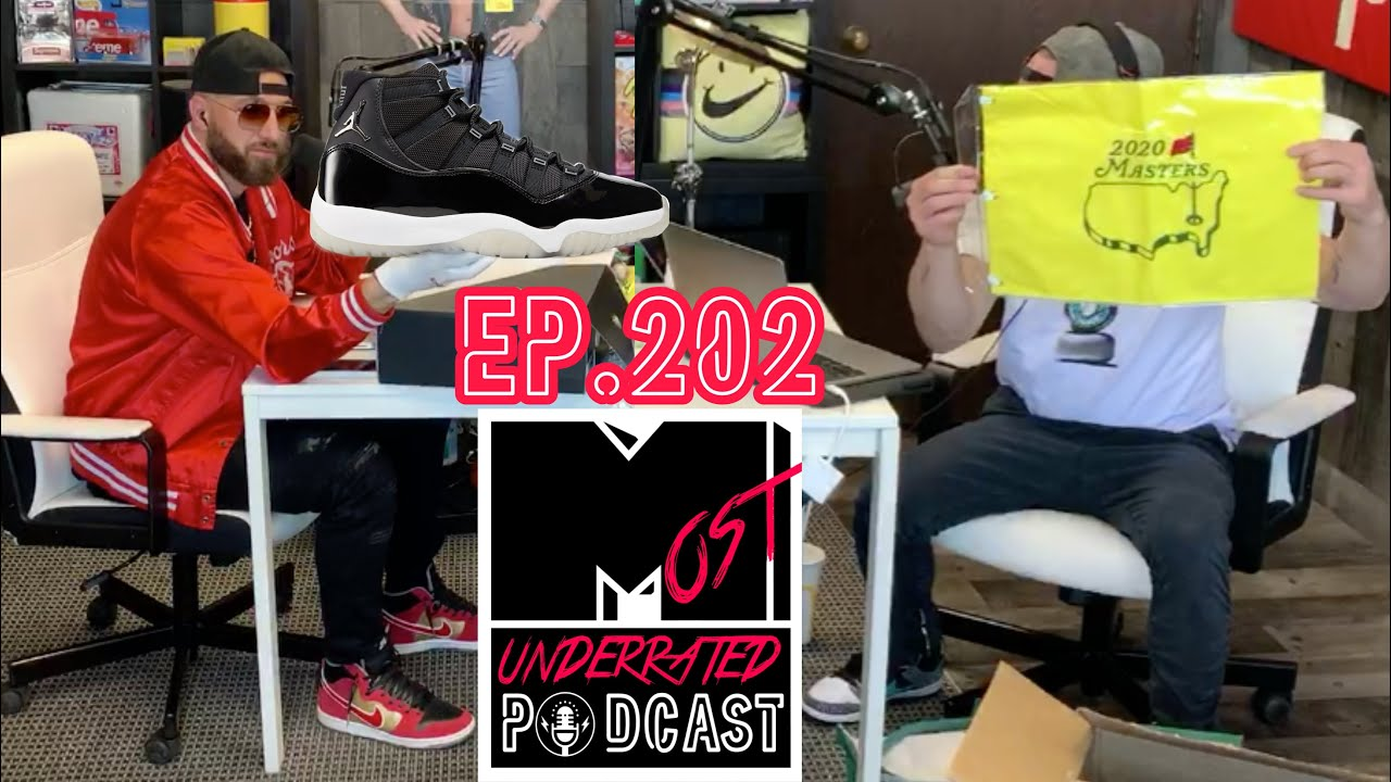 Jordan 11 Jubilee in Studio & FIRE Gifts from Golden EYE & More | The Most Underrated Podcast Ep.202