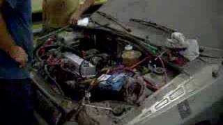 Renault Clio CHT - Primeira vez funcionando o motor!