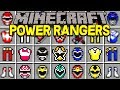 Minecraft POWER RANGERS MOD! | BECOME A POWER RANGER, NEW ITEMS, MORPH, & MORE! | Modded Mini-Game