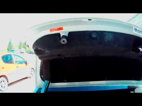 Ремонт, замена кнопки багажника
