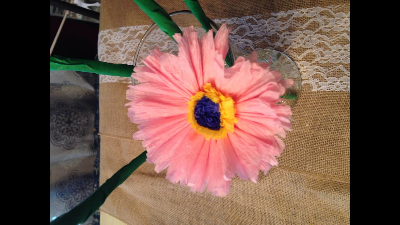 Famous How To Make Easy Crepe Paper Flowers Model Images For