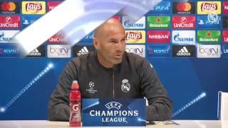 """Zidane: """"Estamos preparados para empezar la Champions"""""""