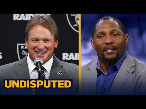 Ray Lewis on Jon Gruden's return to Oakland 'excited to see what happens' | UNDISPUTED