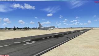 Microsoft Flight Simulator X - Boeing 737 landing