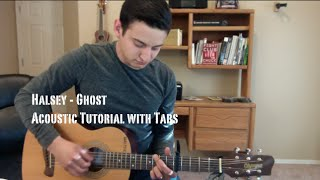 Halsey - Ghost (Guitar Lesson/Tutorial with Tabs)