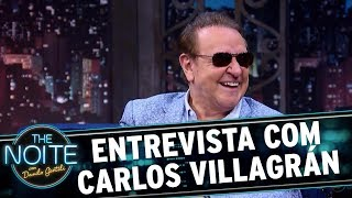Entrevista Com Carlos Villagrán | The Noite (11/10/17)