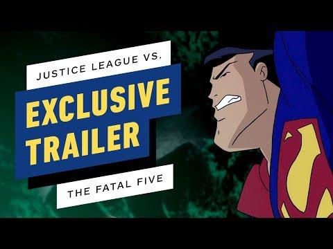 Justice League vs. The Fatal Five Trailer (2019)
