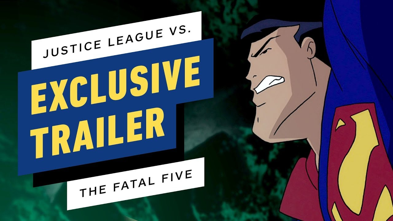 Justice League Vs The Fatal Five Trailer 2019 Youtube