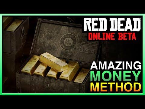 Red Dead Redemption 2 Online Money Method - Unlimited RED DEAD ONLINE MONEY! RDR2 Online Money thumbnail