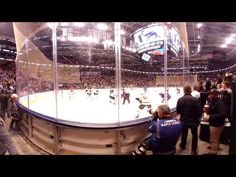 Watch the Hockey Hall of Fame game between the Maple Leafs and Bruins in 360