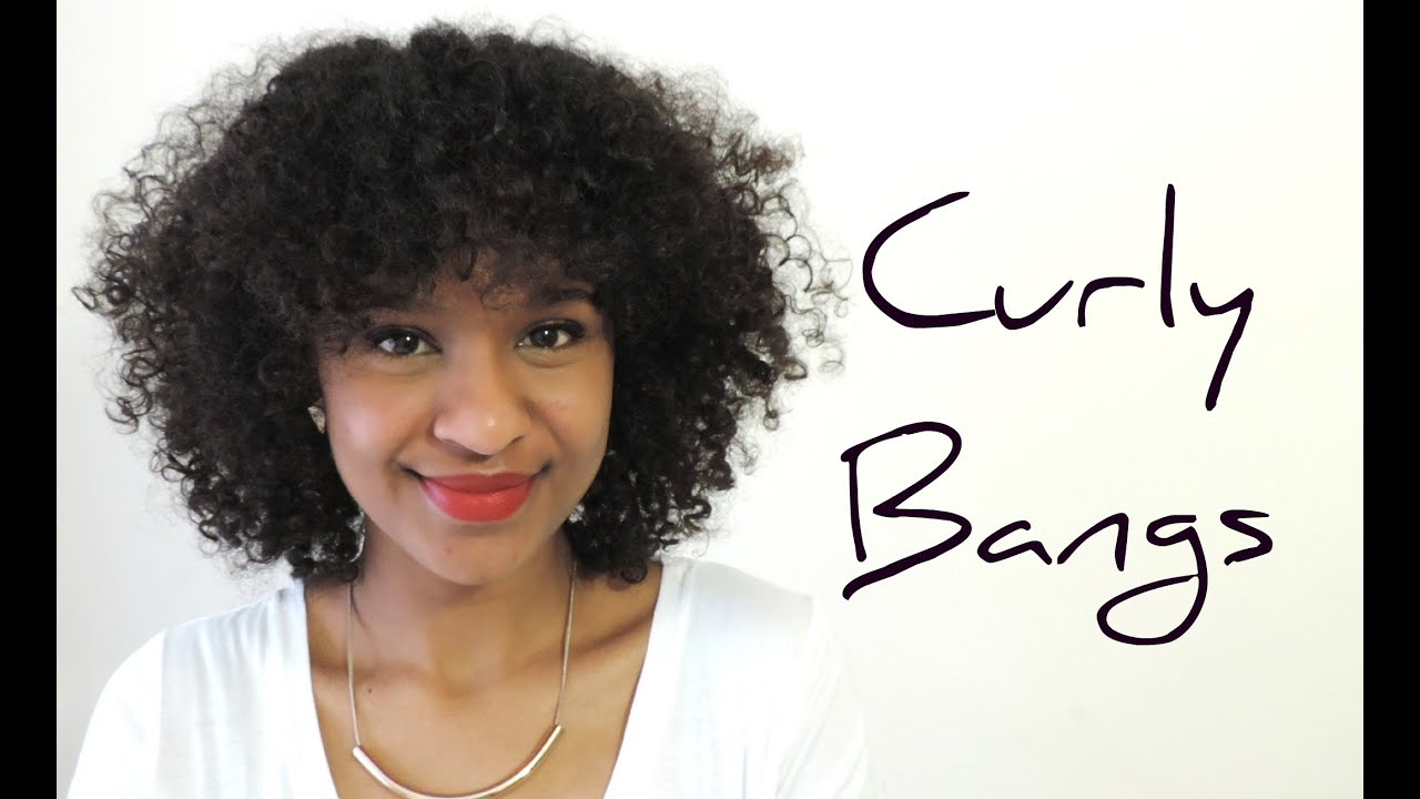 Curly Hair Styles With Bangs: Curly Hair - YouTube