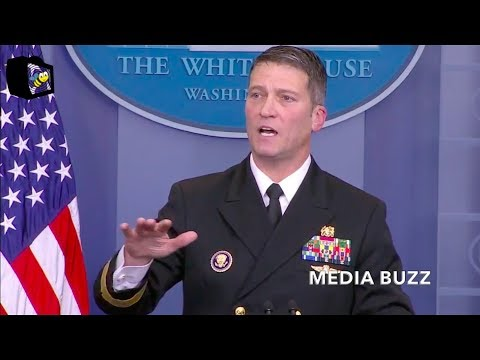 White House Press Briefing on Trump's Health 1/16/18 - Trump Health Exam Results - January 16, 2018