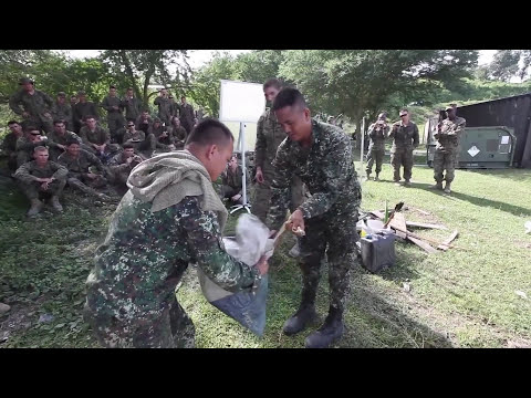 U.S and Philippine Marine Corps Trained to Survive in the Ju