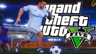 GTA 5 - FUTBOL MODU (GTA 5 - Real Madrid vs Barcelona Futbol Maçı)