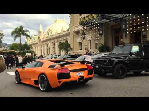Unbelievable Supercars in MONACO - January 2016 [HD - 1080p]