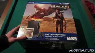 Sony PlayStation 3 Unboxing (Uncharted 3 Bundle)