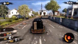Motorstorm Apocalypse, gameplay multiplayer #1, 2 races