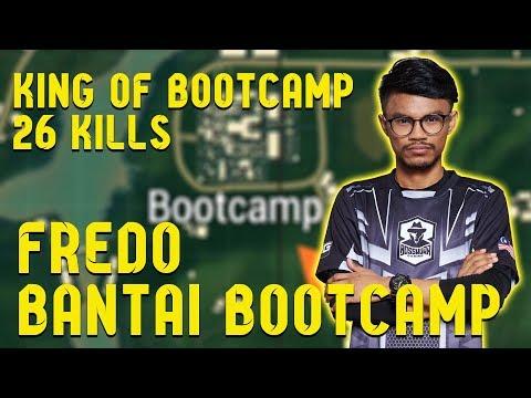 King Of Bootcamp!!! Fredo Sameon Bantai BootCamp   PUBG Mobile Malaysia