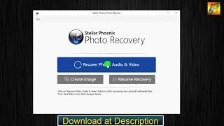 Stellar Phoenix Photo Recovery Windows 7.0