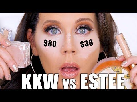 KKW BEAUTY CONCEALER vs  ESTEE LAUDER DOUBLE WEAR