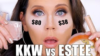 KKW BEAUTY CONCEALER vs  ESTEE LAUDER DOUBLE WEAR