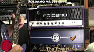 Jet City vs. Soldano - Shoot-Out! ~Using Ed Roman Quicksilver Guitar~