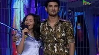Sushant Purposed Ankita on Jhalak Dikhla Jaa Season 2 [14th Feb 2011]
