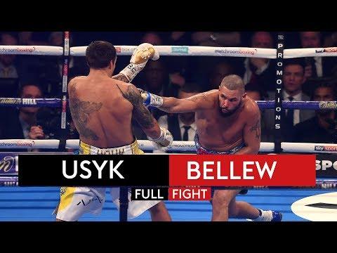 FULL FIGHT! Oleksandr Usyk vs Tony Bellew | 10th November 2018