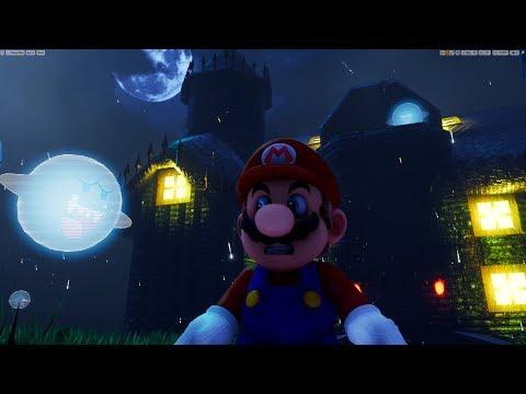 Unreal Engine 4 [4.20.2] Super Mario 64  / Haunted House