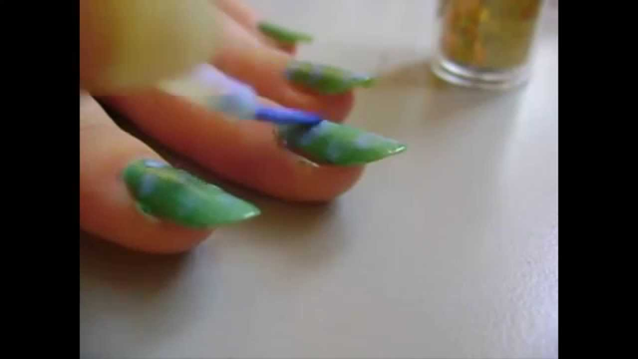 NEW STYLE FOR NAILS :D - YouTube
