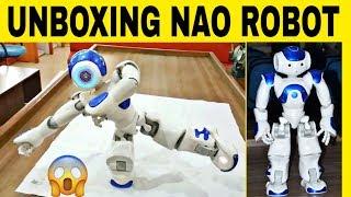 Unboxing Nao robot || Nao robot 2020 || Nao robot price || NAO robot || Nao robot talking