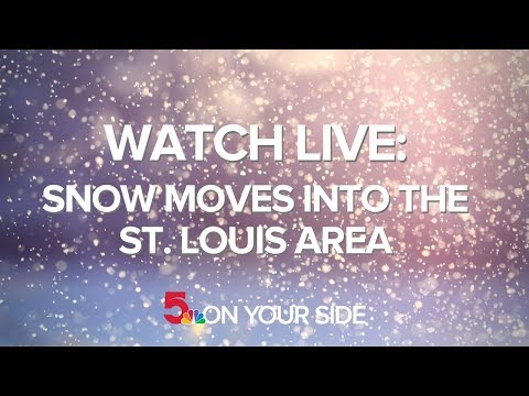 Watch Live: Snow In St. Louis, Weather Radar And Traffic Camera