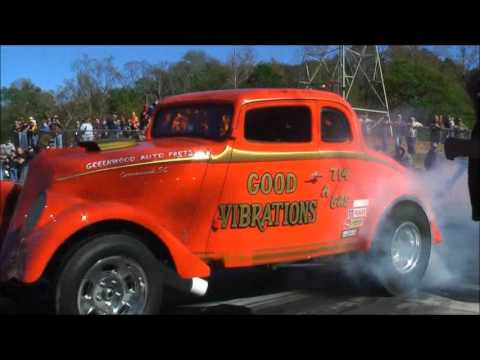 SKULL GARAGE..SOUTHEAST GASSERS FINALS AT GREER 11/14/15 FULL EVENT & CALAMITY JANE 1ST TIME OUT