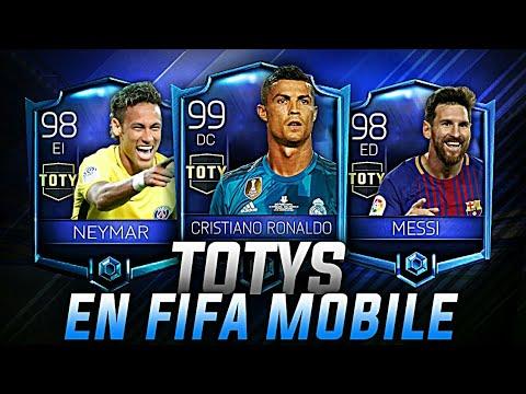 TOTYS EN FIFA 18 MOBILE CONFIRMADOS!! | MESSI, RONALDO ... Felipe Fifa 18