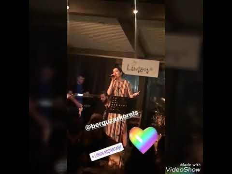 Berguzar Korel 11.05.2018 at Esra Erol's BD party