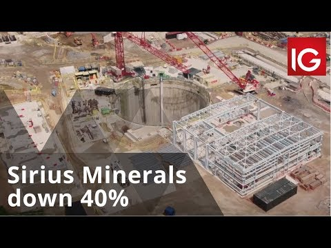 Sirius Minerals Down 40% After Pulling A Bond Sale