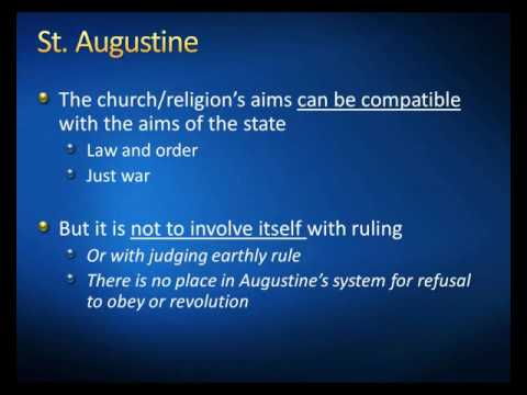 Augustine's Just War Theory