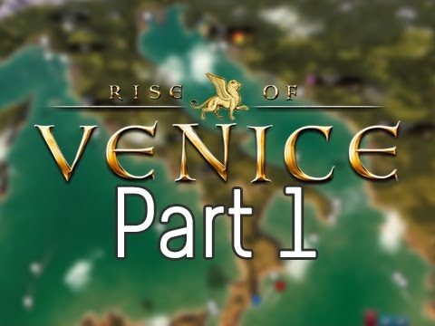 Let's Play Rise Of Venice Walkthrough Gameplay - Part 1 - The Foundations Of Venice
