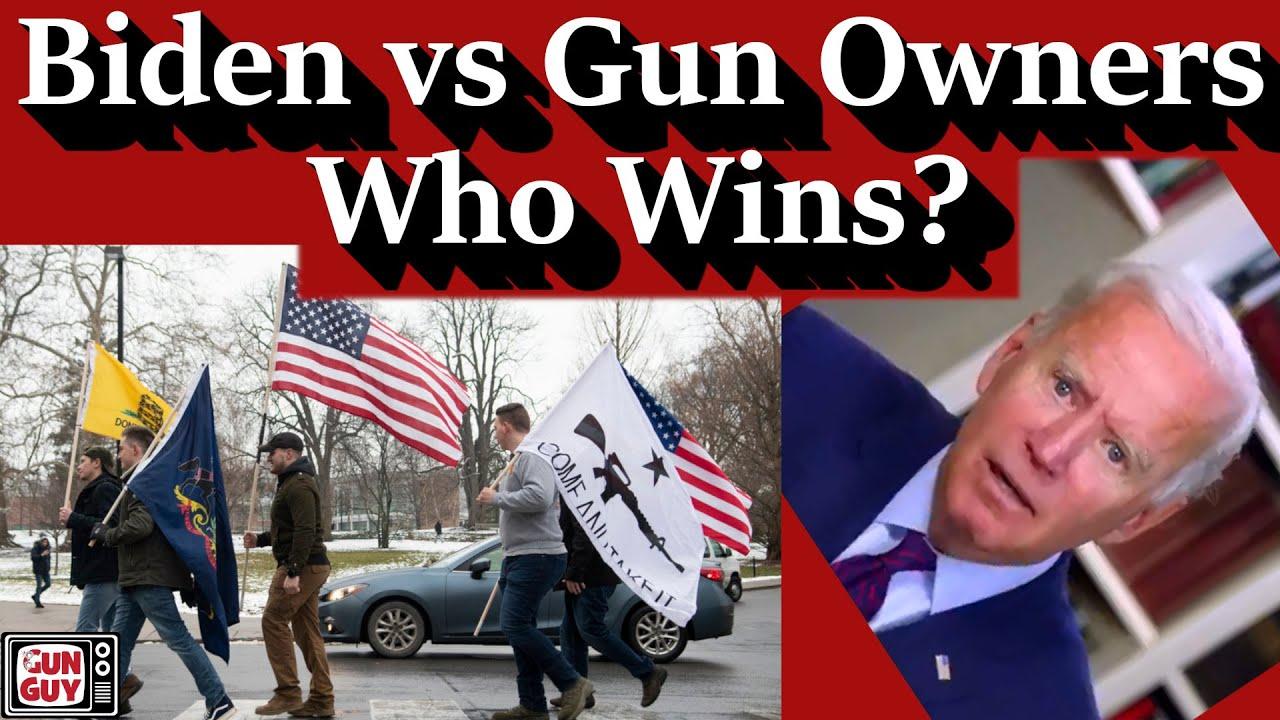 Biden vs Gun Owners - Who Wins?