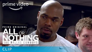All or Nothing: The Dallas Cowboys - Clip: Locker Room | Prime Video