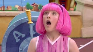 lazytown forever but the chorus is take it to the top Resimi