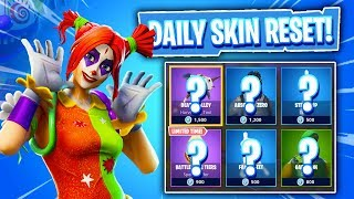 OMG NEW CLOWN SKINS! Daily & Featured Item Shop In Fortnite: Battle Royale! (Skin Reset #227)