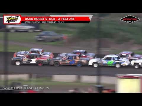 Sportsman/Hobby Stock Features - Rapid Speedway - 7/26/19