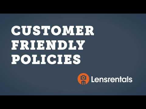 Lensrentals vs. Other Rental Houses: Customer Friendly Policies