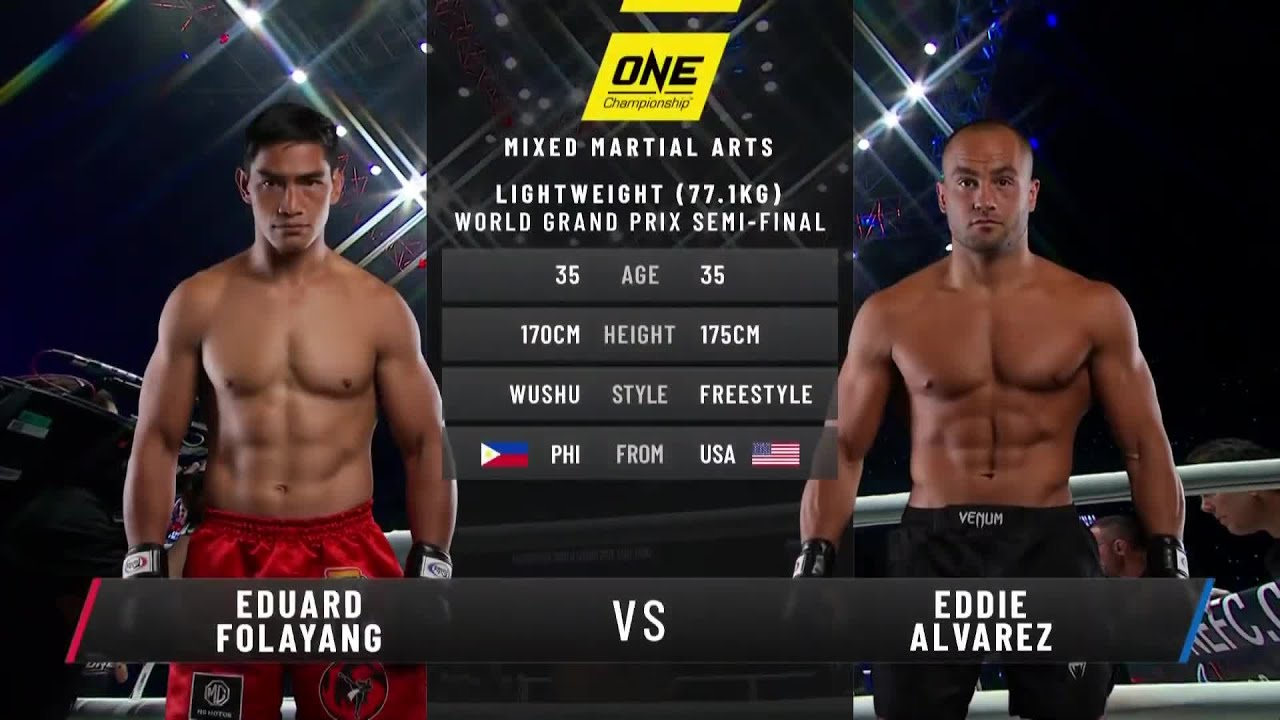 Eduard Folayang vs. Eddie Alvarez | Full Fight Replay
