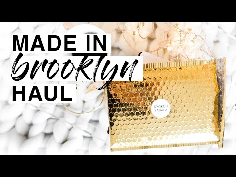 JEWELRY AND SKIN CARE HAUL + FIRST IMPRESSIONS | SMALL BRANDS | MADE IN NYC | Cakemood